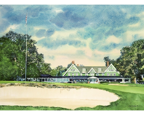 aga-artist-david-coolidge-1897-oakmont-clubhouse