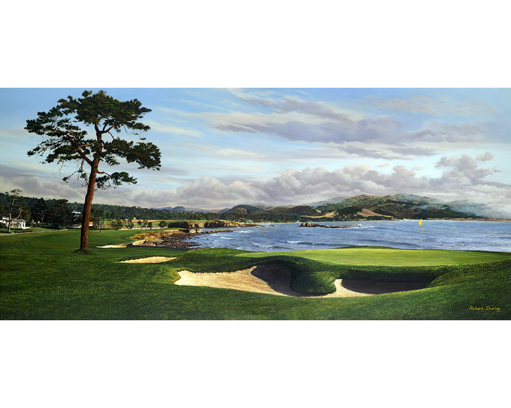 aga-artist-richard-chorley-18th-pebble-beach