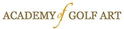 academy of golf art logo image